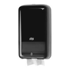 Tork Диспенсер для листовой туалетной бумаги (чёрный)