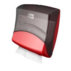Tork диспенсер для материалов в салфетках (чёрно-красный)