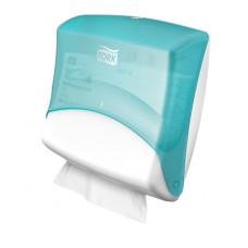 Tork диспенсер для материалов в салфетках (бело-голубой)