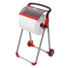 Tork напольный диспенсер для материалов в рулоне (чёрно-красный)