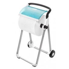 Tork напольный диспенсер для материалов в рулоне (бело-голубой)