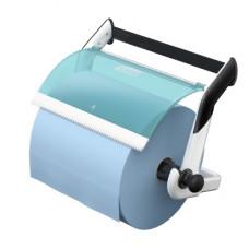 Tork настенный диспенсер для материалов в рулоне (бело-голубой)