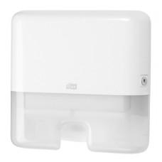 Tork Мини-диспенсер для полотенец Interfold (белый)