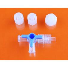 Краник для инфузии трехходовой
