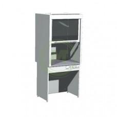 Шкаф вытяжной лабораторный ШВ-01-МСК (пластик)