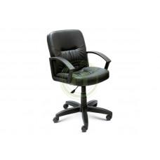 Офисное кресло AV 205 PL кожзам черный