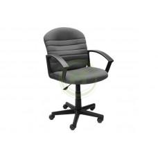 Офисное кресло AV 204 PL ткань серая с черной ниткой