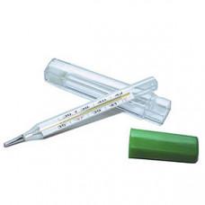 Термометр медицинский ртутный в прозрачном футляре